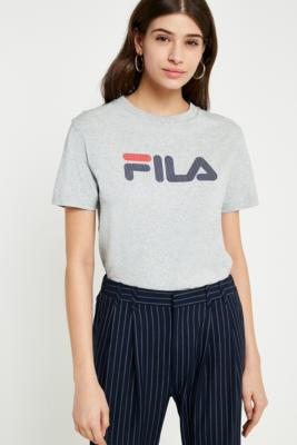 Fila - FILA Grey Logo T-Shirt, Grey