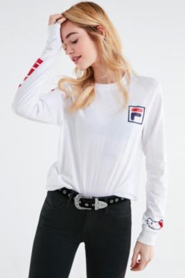 Fila - FILA X Sanrio For UO Long Sleeve T-Shirt, White