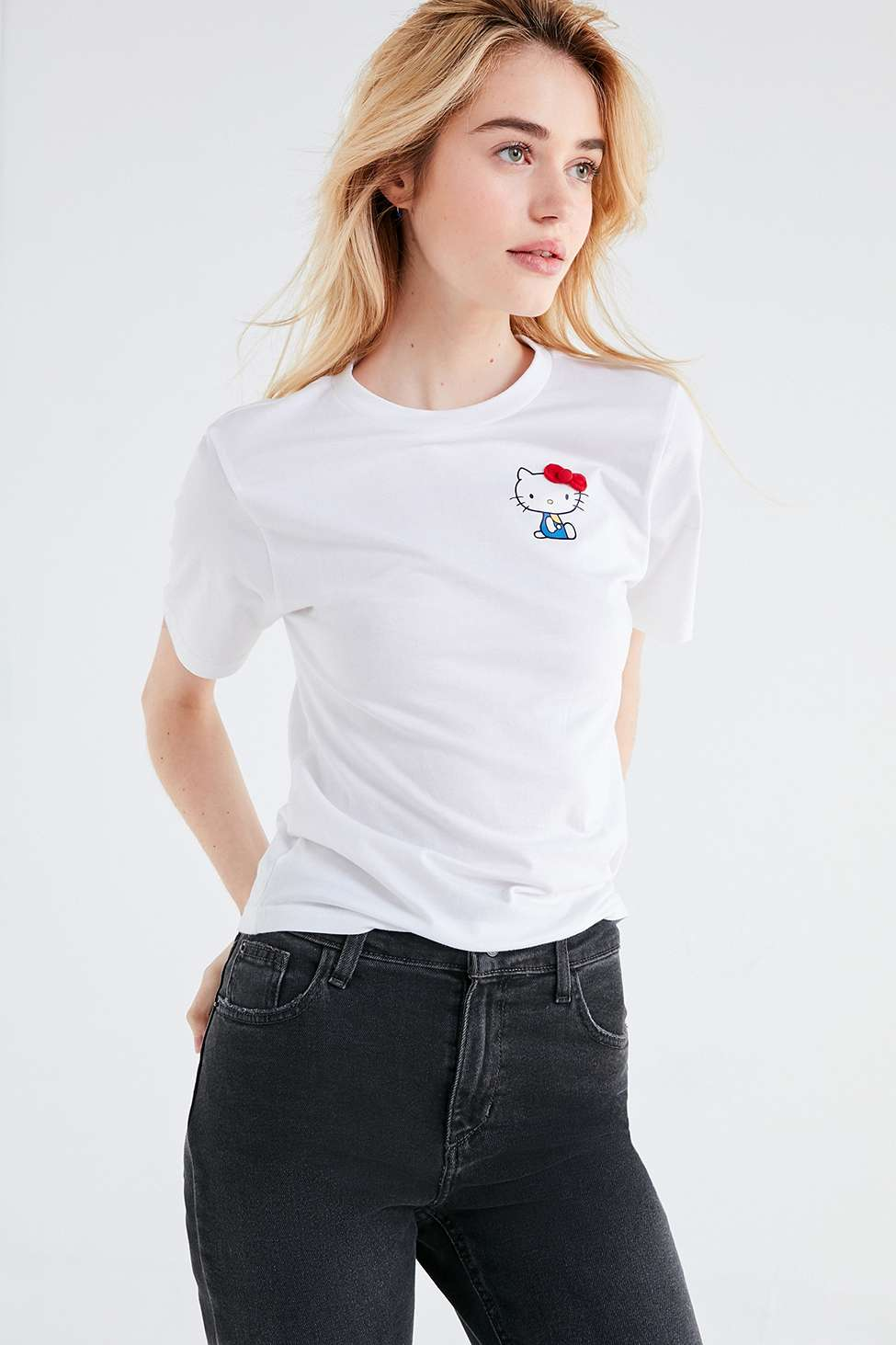 FILA X Sanrio For UO Hello Kitty T-Shirt, White