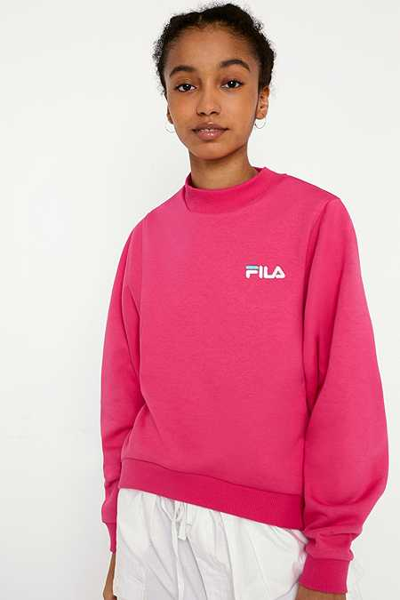 "Fila – Sweatshirt ""Summer"" in Rosa"
