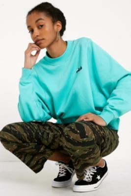 Fila - FILA Summer Teal Sweatshirt, Green