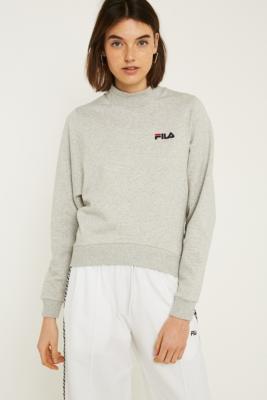 Fila - FILA Grey Drop Sleeve Sweatshirt, grey