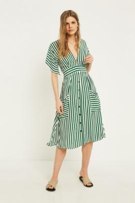 Faithfull The Brand Milan Stripe Midi Dress by Faithfull The Brand