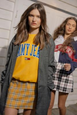Tommy Jeans - Tommy Jeans Yellow Collegiate Sweatshirt, Yellow