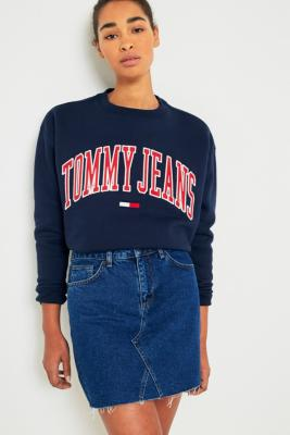 Tommy Jeans - Tommy Jeans Navy Collegiate Sweatshirt, Navy