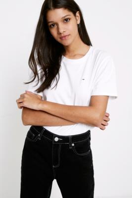 Tommy Jeans - Tommy Jeans Boyfriend T-Shirt, White