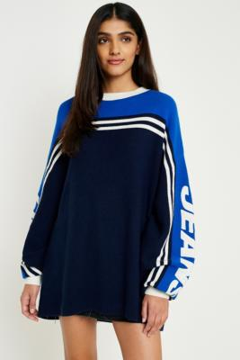 Tommy Jeans - Tommy Jeans Oversized Racing Jumper, Blue