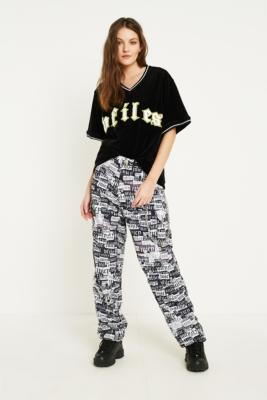Juicy Couture - Juicy Couture X VFILES Printed Cargo Trousers, black
