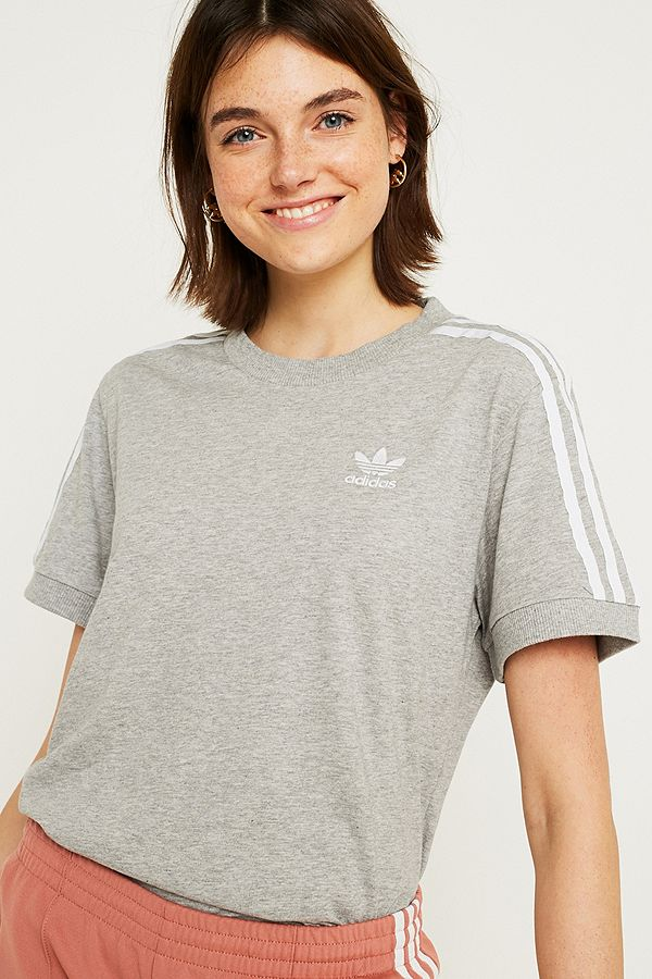adidas 3 stripes t shirt