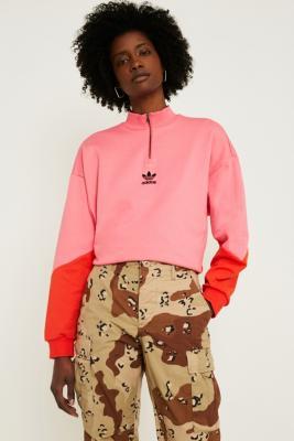 Adidas Originals Colorado Quarter Zip Sweatshirt by Urban Outfitters
