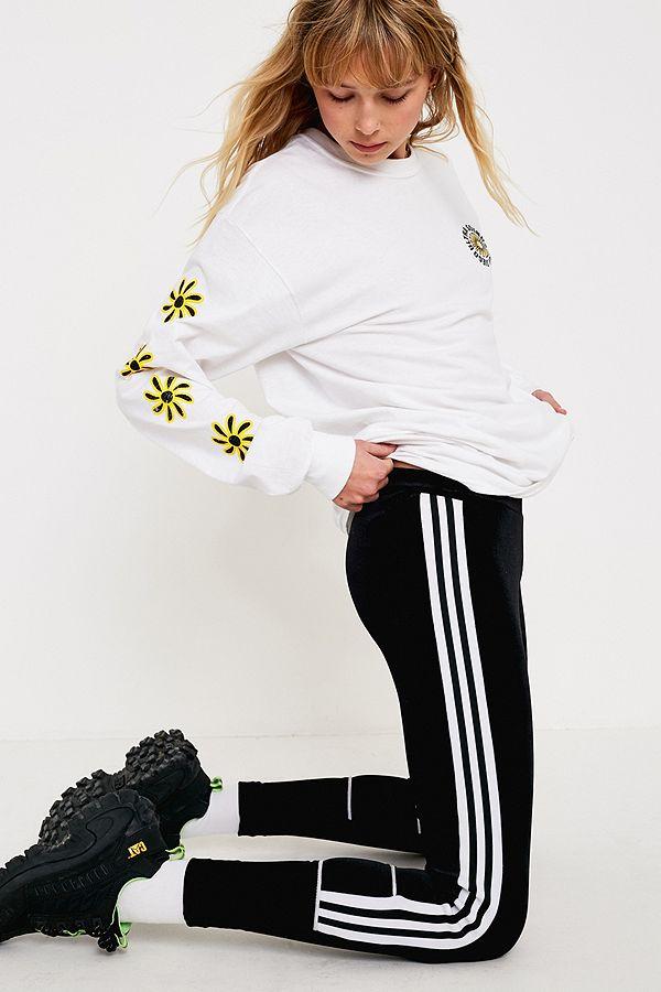 Black Velvet Originals Adidas Uk Leggings Urban Outfitters x6wqqzg c204d383e39