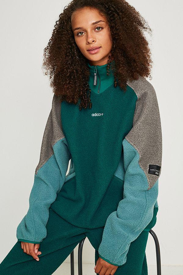 Urban Jacket Fleece Outfitters Green Originals Fr Adidas Eqt Polar wIXqHWYv