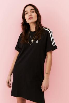 Robe t-shirt Adicolor classique manches retroussées - adidas - Modalova