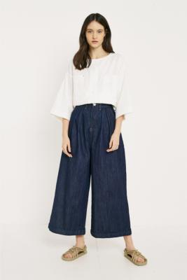 LF Markey - LF Markey Pleat Front Jeans, Indigo