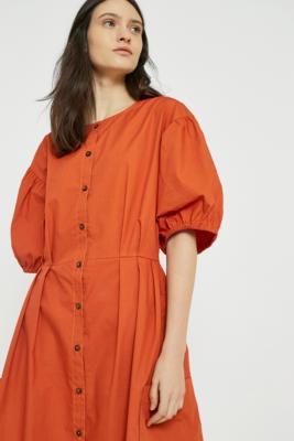 LF Markey - LF Markey Oliver Terracotta Dress, Orange