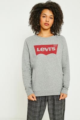Levi's - Levi's Classic Logo Sweatshirt, Grey