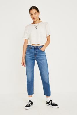 Levi's Wedgie Fit Love Triangle High Rise Straight Leg Jeans by Levi's