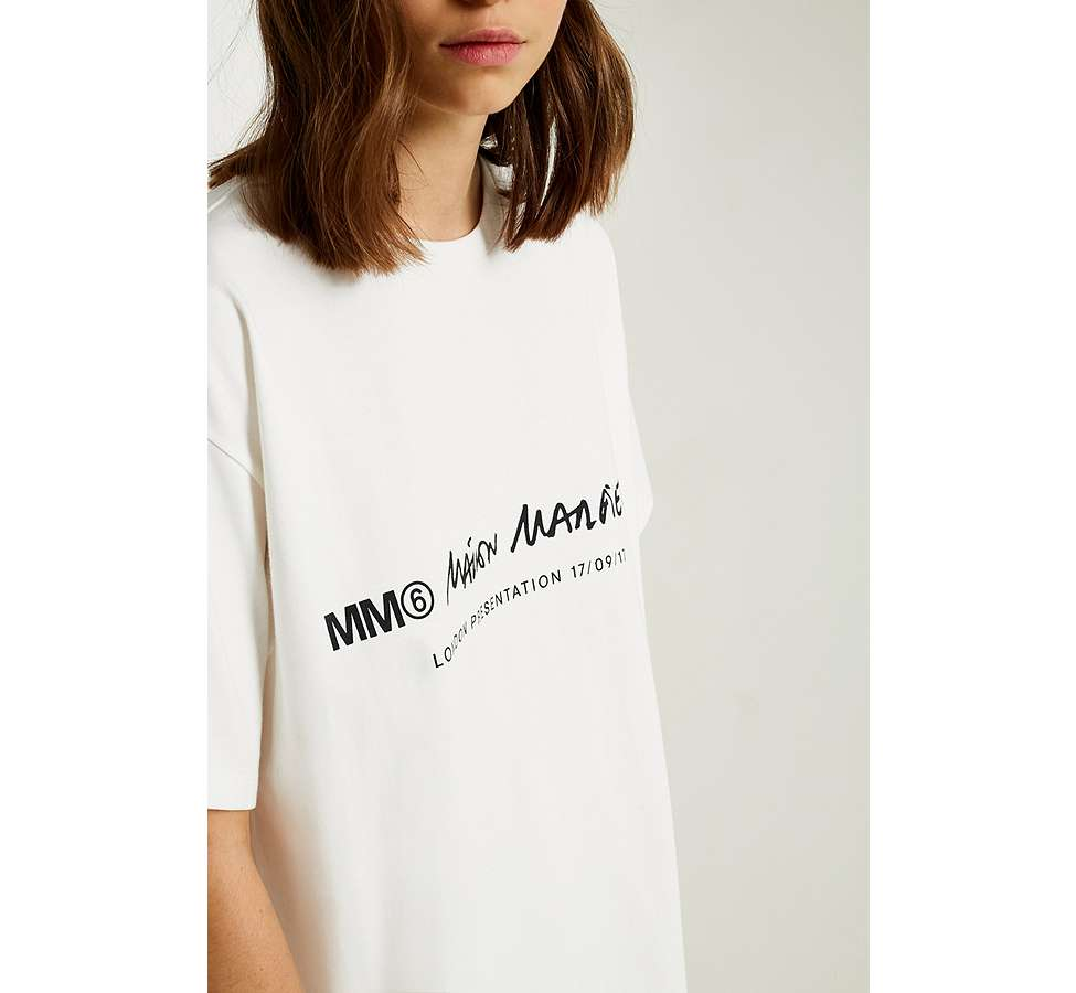 Slide View: 3: MM6 Linear T-Shirt