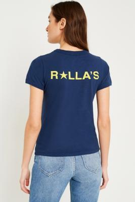 Rolla's - Rolla's Star Logo T-Shirt, Navy