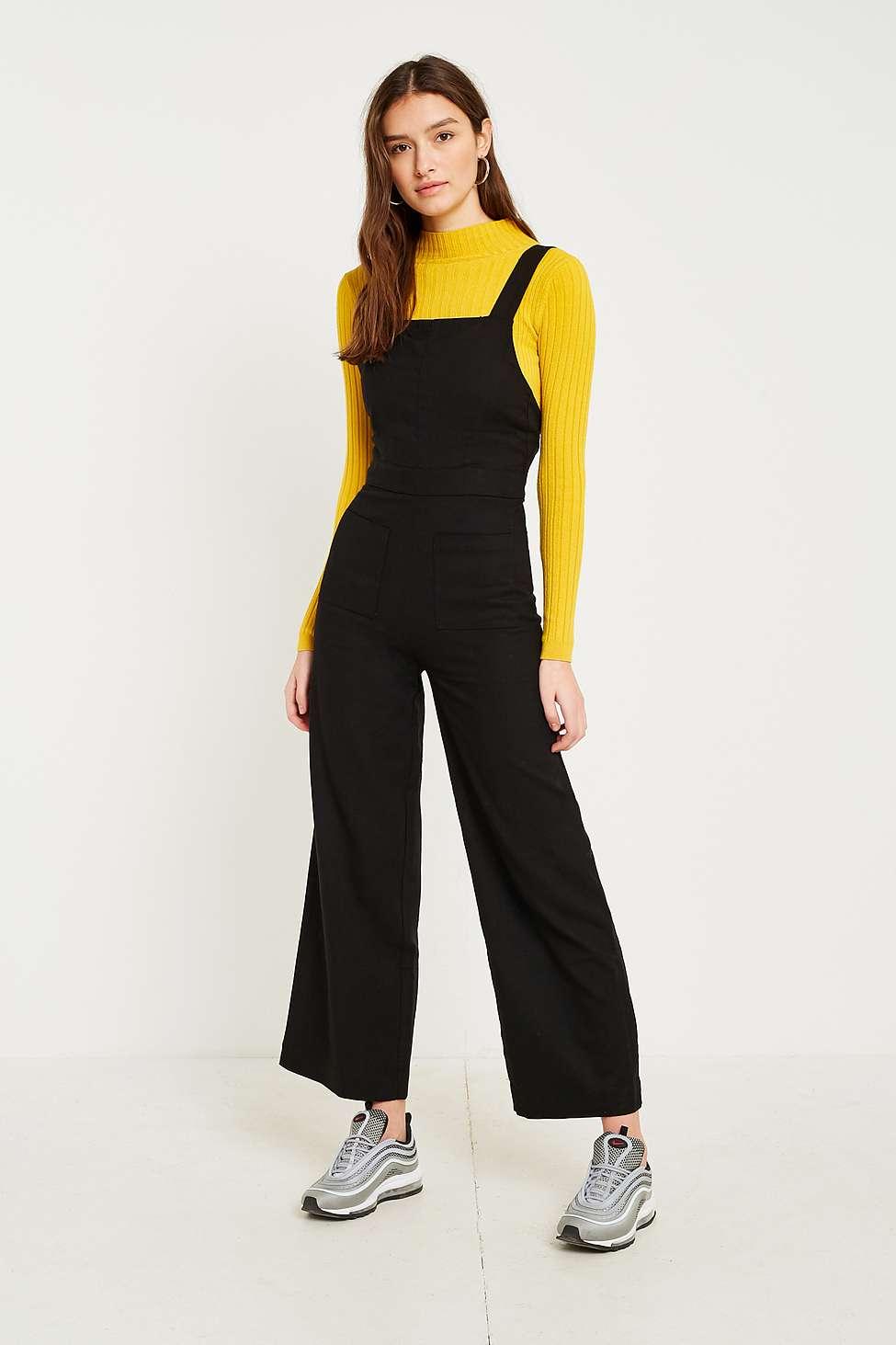 Rolla's Linen Nights Jumpsuit, Black