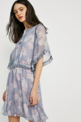 Stevie May - Stevie May Splendor Mini Dress, purple