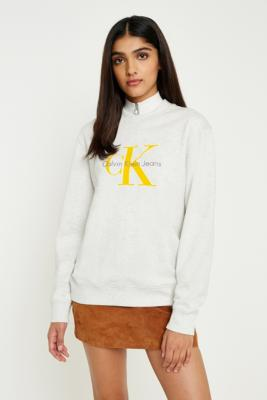 Calvin Klein - Calvin Klein True Icon Grey Sweatshirt, Grey