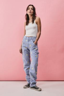 Stan Ray Daisy Hickory OG Painter Pants - Blue 29 at Urban Outfitters