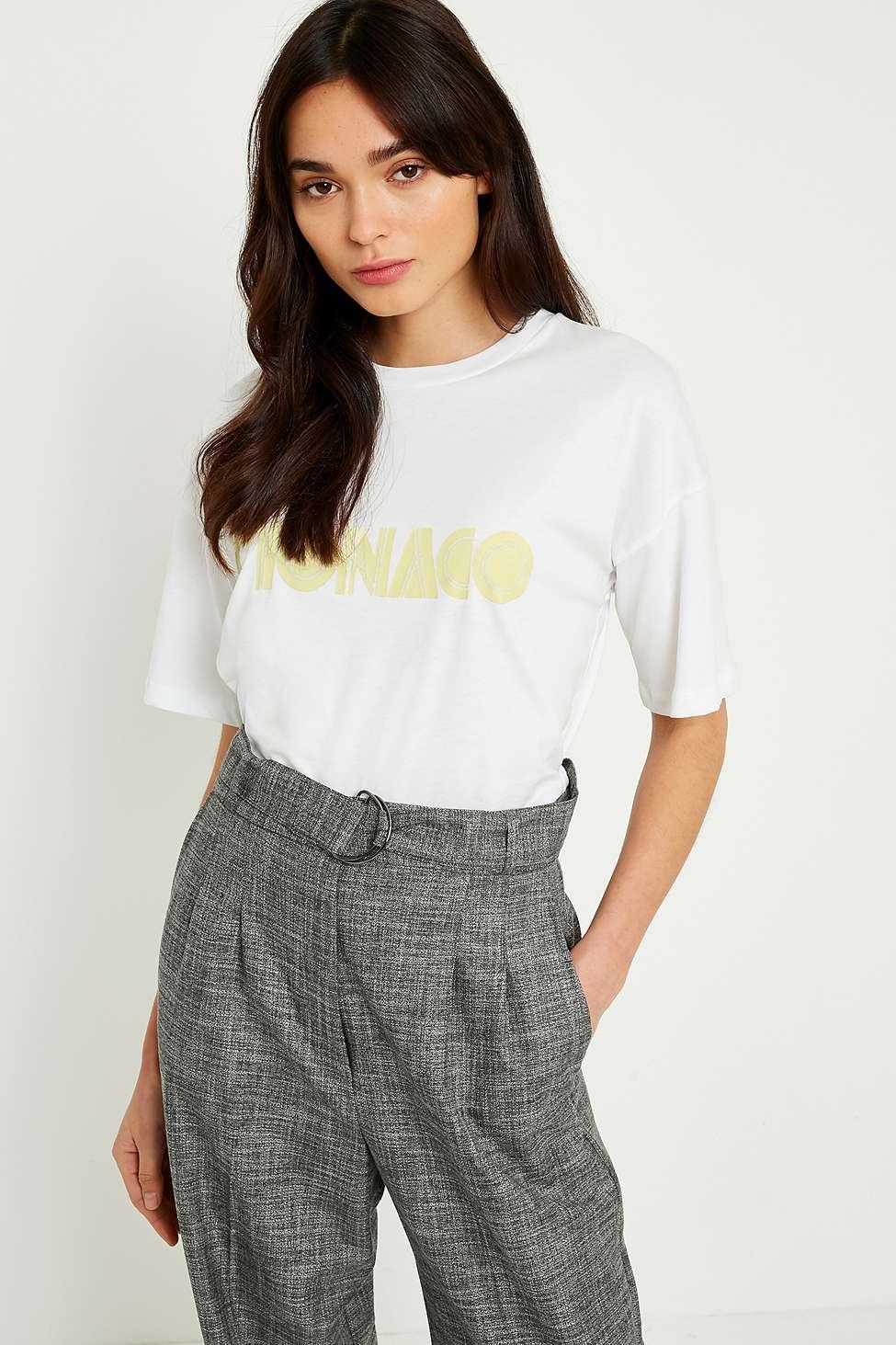 Gestuz Eaton Monaco T-Shirt, White