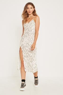 4c5e6d72b4d3 Shoptagr   The East Order Alicia Velvet Floral Midi Dress by The ...