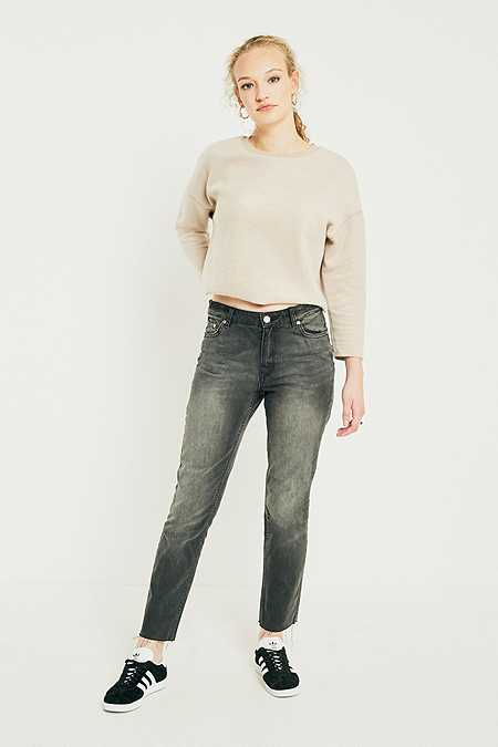 Cheap Monday Revive Vintage Wash Black Jeans