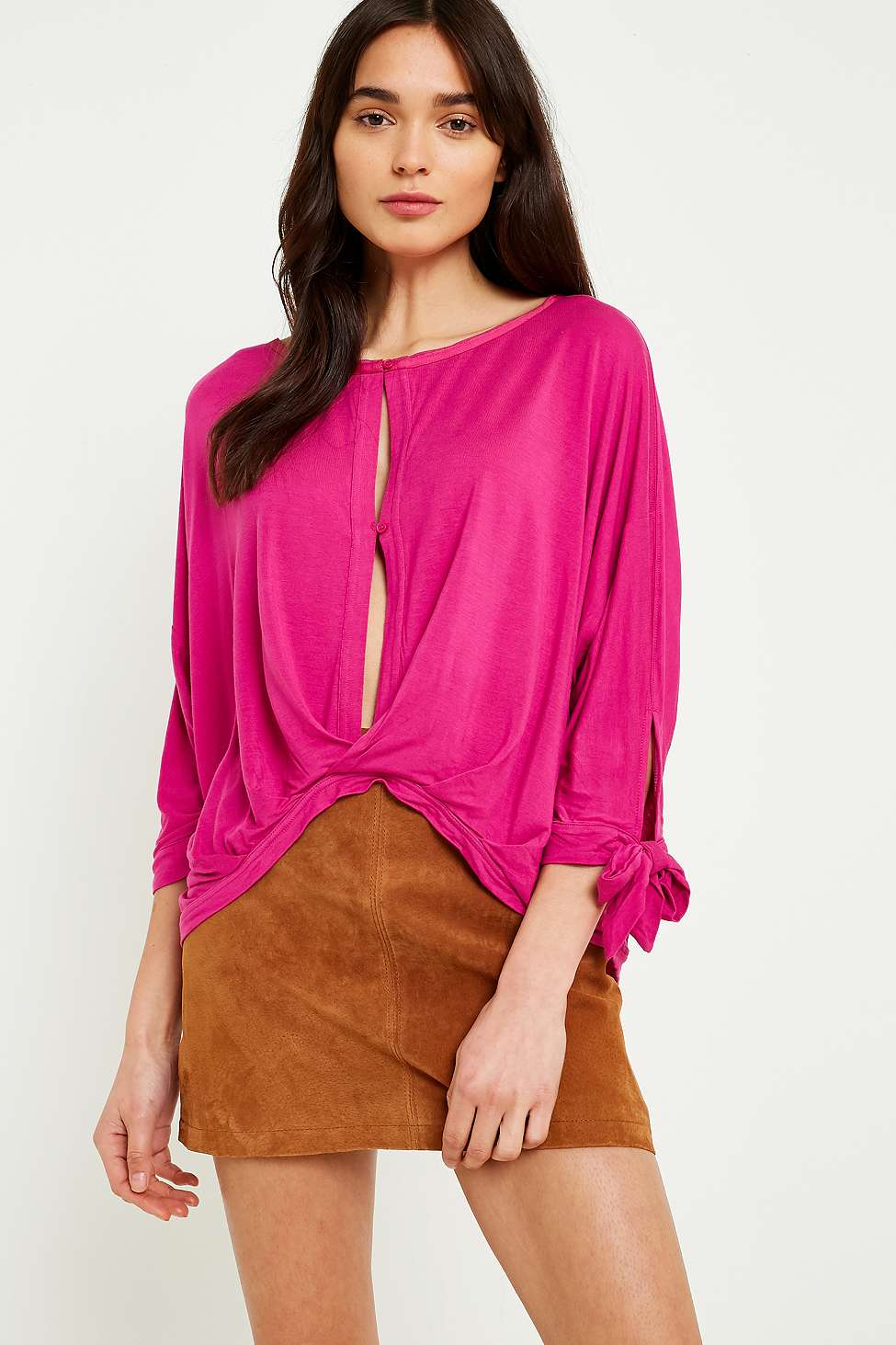 Free People Keepin On T-Shirt, Red
