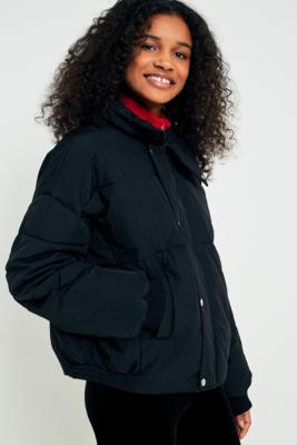 Free People - Free People Cold Rush Puffer Jacket, Black