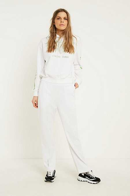 Cheap Monday Hacker White Sweatpants