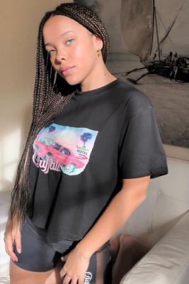 Buffalo - T-shirt imprimé Mia noir - Buffalo - Modalova