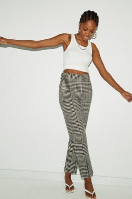 MM6 Check Wool Trousers - Assorted 40 at Urban Outfitters