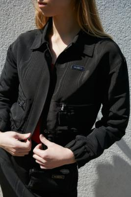 Wasted Paris Moire Tech Jacket - Black M at Urban Outfitters