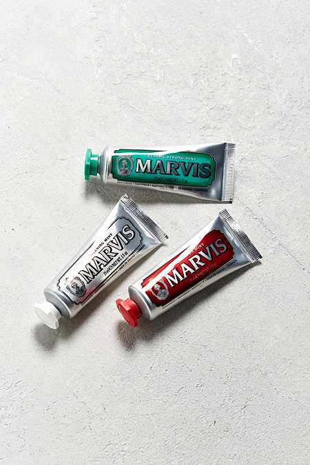 Marvis Travel With Flavor Toothpaste Gift Set