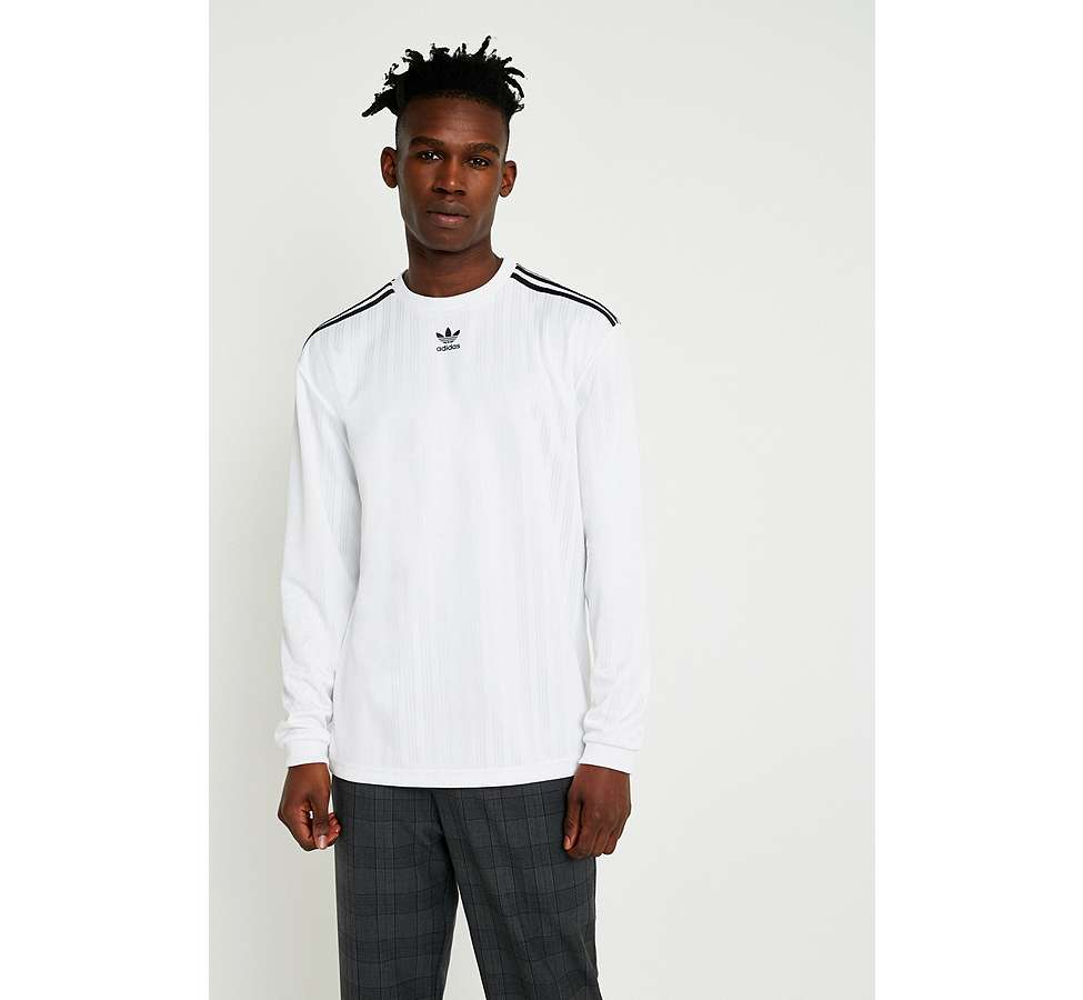 Slide View: 2: adidas - Maillot de football blanc à manches longues