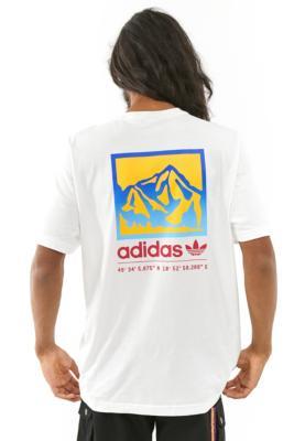 adidas Originals Adiplore T-Shirt - White M at Urban Outfitters