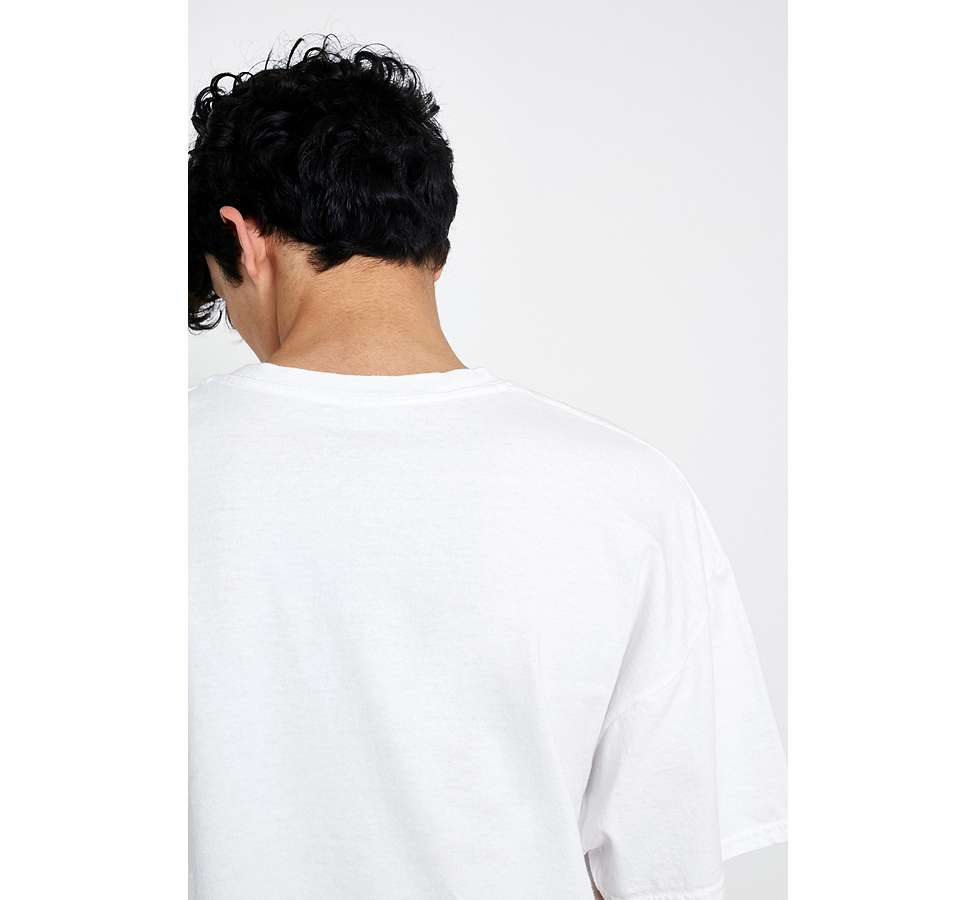 Slide View: 3: UO Obstacles White T-Shirt
