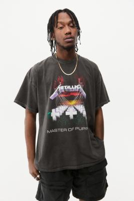 UO - T-shirt Metallica délavé - Urban Outfitters - Modalova