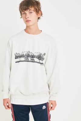 "Urban Outfitters– Sweatshirt ""Alaska"" In Steingrau by Urban Outfitters Shoppen"