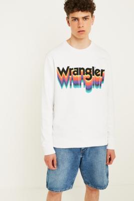 Wrangler Glitch Logo Sweatshirt by Wrangler