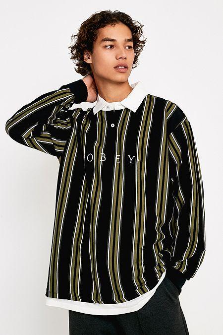 Polos Mens T Shirts Polos Long Sleeve Tops Printed T Shirts
