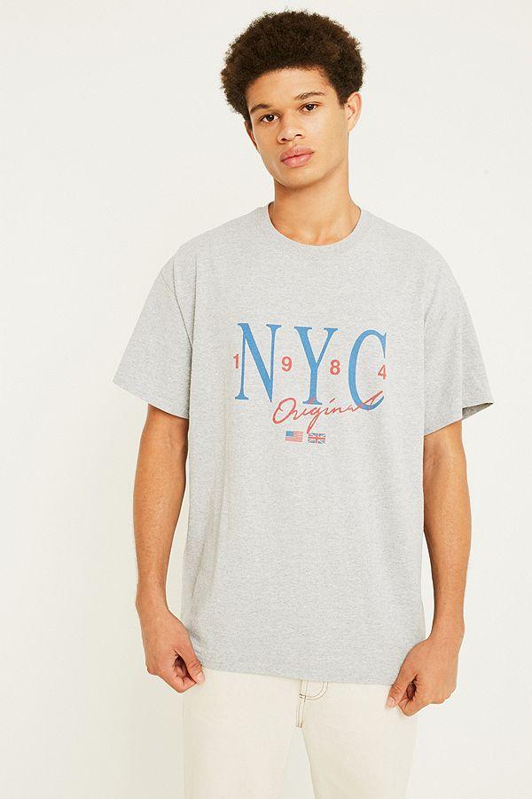 UO NYC Grey T-Shirt  1be2f05cd0f