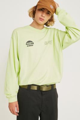 Uo 180 X Lime Long Sleeve T Shirt by Urban Outfitters
