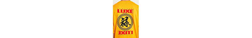 "Thumbnail View 2: Urban Outfitters – T-Shirt ""Luxe"" in Gold"