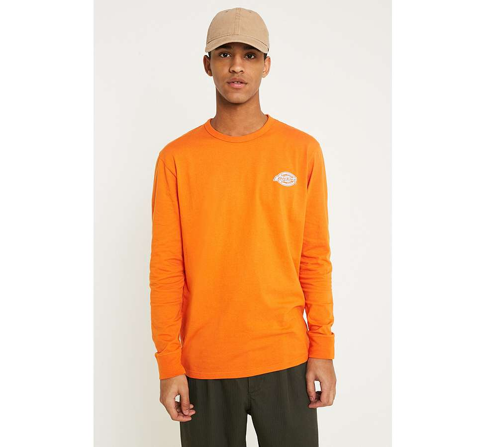 Slide View: 1: Dickies - T-shirt à manches longues orange