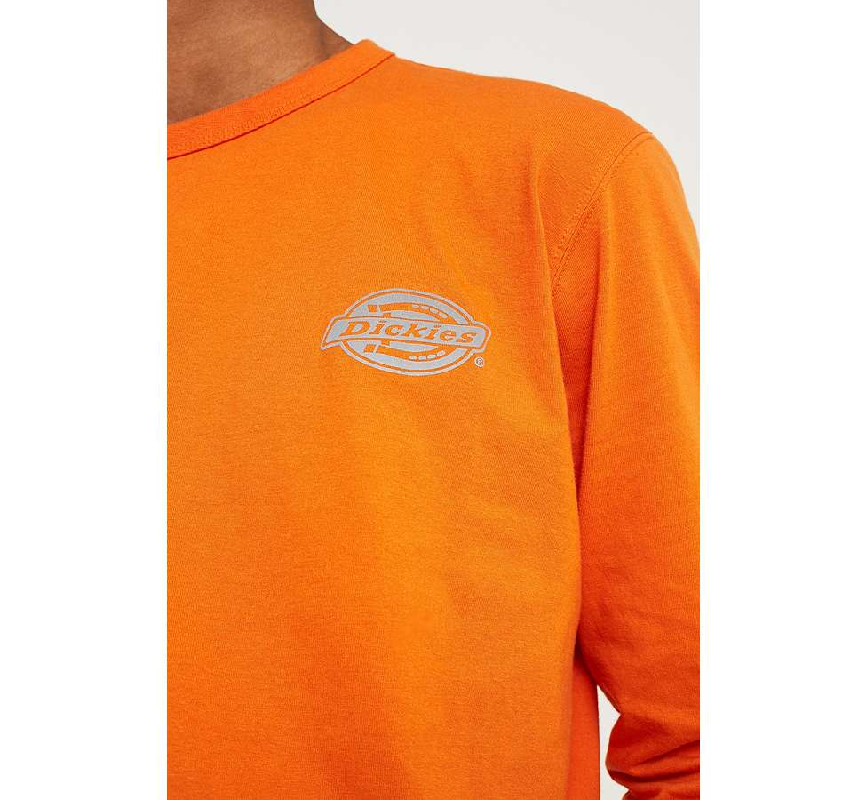 Slide View: 2: Dickies - T-shirt à manches longues orange