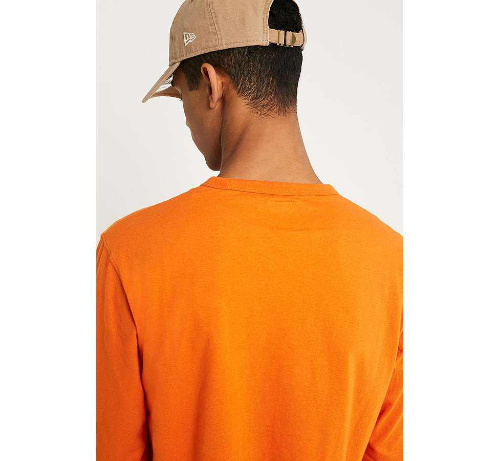 Slide View: 3: Dickies - T-shirt à manches longues orange